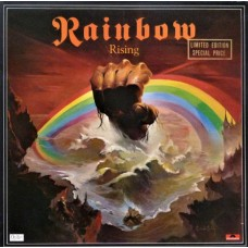 RAINBOW - RISING - LP UK 1976 - LIMITED EDITION - EXCELLENT+
