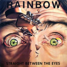 RAINBOW - STRAIGHT BETWEEN THE EYES - LP UK 1982 - EXCELLENT