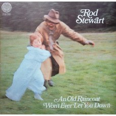 ROD STEWART - AN OLD RAINCOAT WON'T EVER LET YOU DOWN - LP UK 1969 - SWIRL - EXCELLENT++