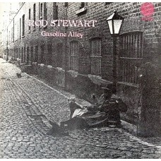 ROD STEWART - GASOLINE ALLEY - LP UK 1970 - SWIRL - EXCELLENT+