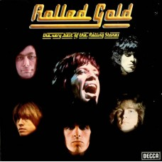 THE ROLLING STONES - ROLLED GOLD - THE VERY BEST OF THE ROLLING STONES - 2 LP UK 1975 - EXCELLENT
