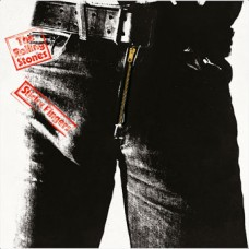 THE ROLLING STONES - STICKY FINGERS - LP UK 1971 - ZIPPER COVER - EXCELLENT