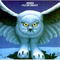 RUSH - FLY BY NIGHT - LP UK 1975 - EXCELLENT+