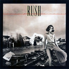 RUSH - PERMANENT WAVES - LP UK 1980 - EXCELLENT+