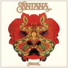 SANTANA - FESTIVAL - LP UK 1976 - ORIGINAL - EXCELLENT+