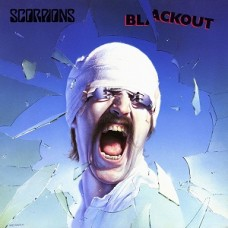 SCORPIONS - BLACKOUT - LP UK 1982 - EXCELLENT+