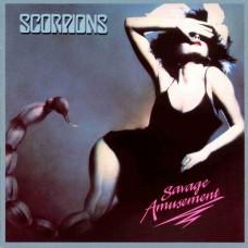 SCORPIONS - SAVAGE AMUSEMENT - LP UK 1988 - ORIGINAL - EXCELLENT+