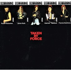 SCORPIONS - TAKEN BY FORCE - LP UK 1978 - EXCELLENT-