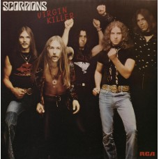 SCORPIONS - VIRGIN KILLER - LP UK 1977 - EXCELLENT+