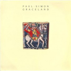 PAUL SIMON - GRACELAND - LP UK 1986 - EMBOSSED SLEEVE - EXCELLENT+
