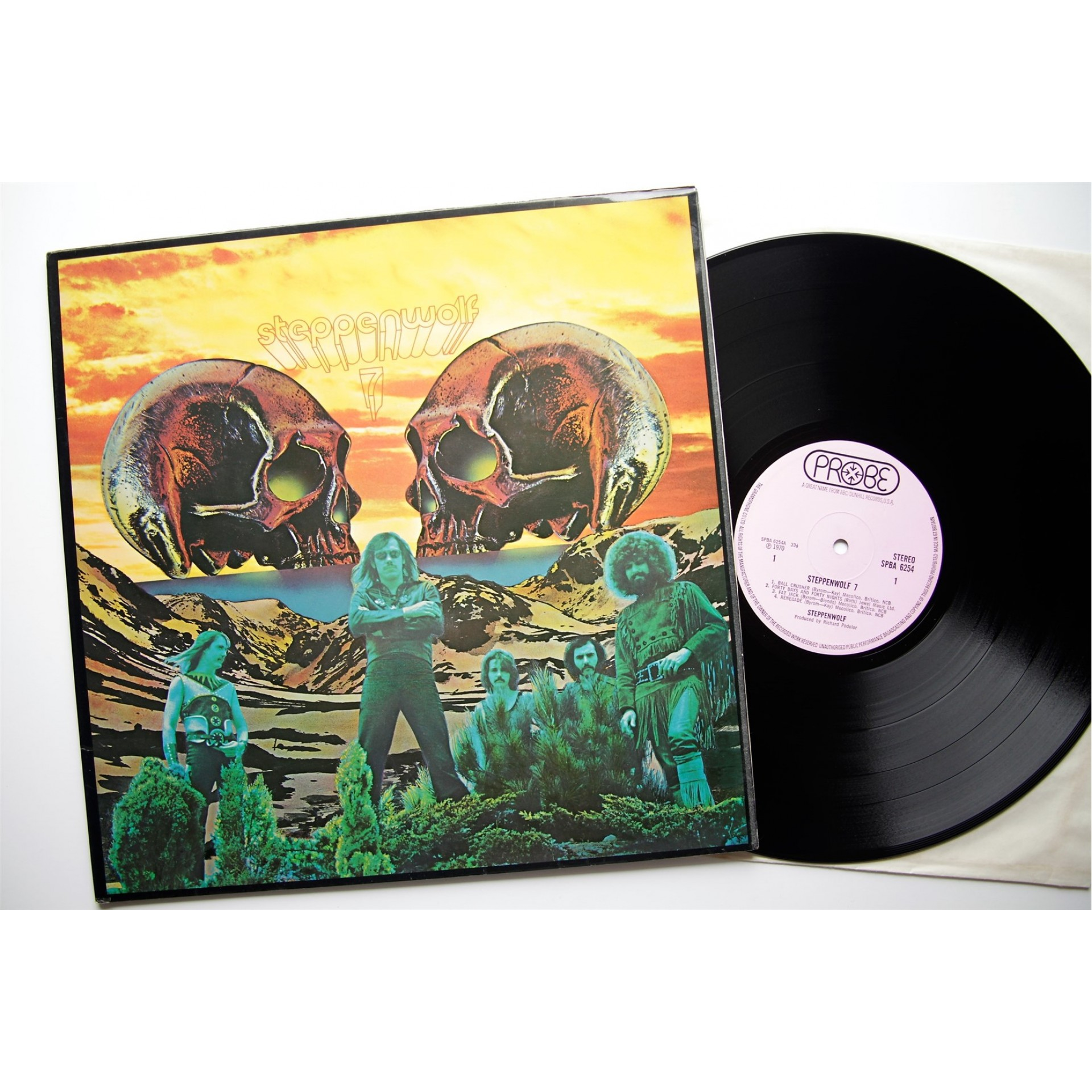Steppenwolf, 7, Lp, Vinyl