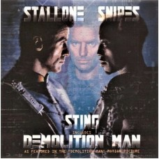 "STING - DEMOLITION MAN - 7"" UK 1993 - EXCELLENT+"