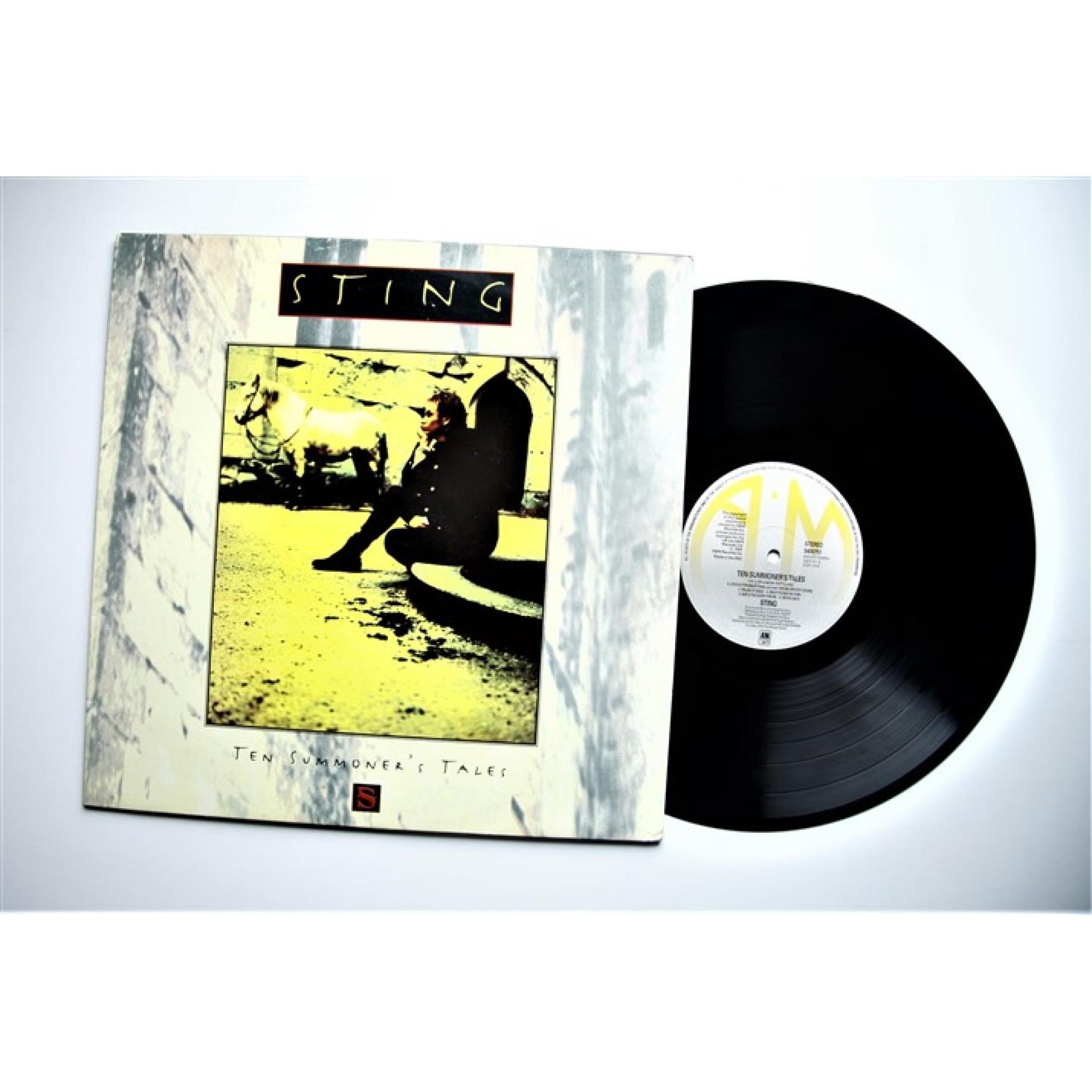 Sting Ten Summoner S Tales Lp Vinyl 1993