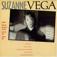 SUZANNE VEGA - SUZANNE VEGA - LP UK 1985 - EXCELLENT