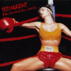 TED MUGENT - IF YOU CAN'T LICK 'EM... LICK 'EM - LP 1988 - NEAR MINT