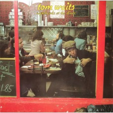 TOM WAITS - NIGHTHAWKS AT THE DINER - LP UK 1976 - EXCELLENT