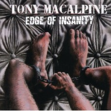 TONY MACALPINE - EDGE OF INSANITY - LP 1986 - NEAR MINT