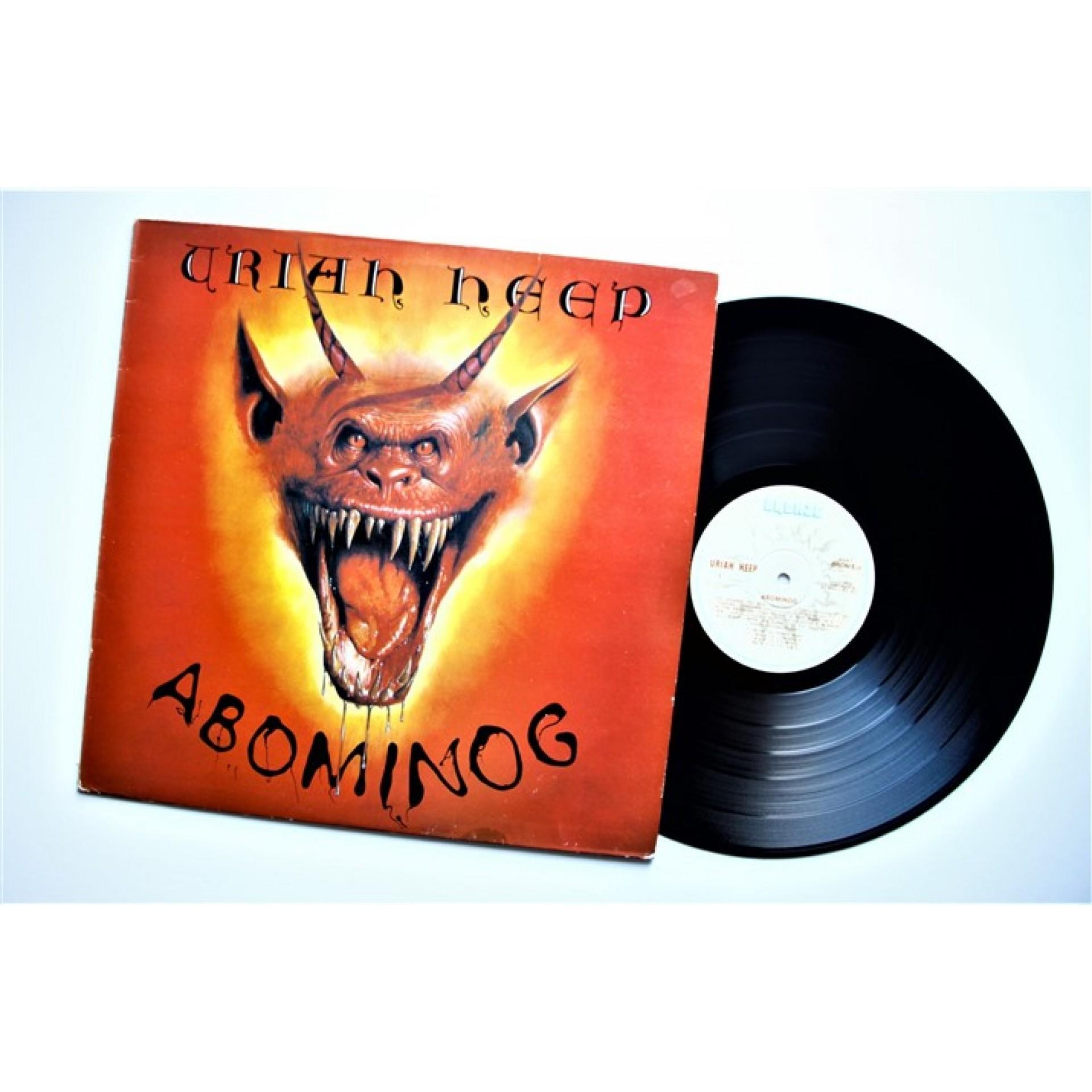 Uriah Heep Abominog Lp Vinyl