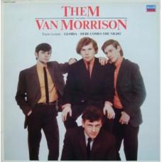 THEM FEATURING VAN MORRISON - LP UK 1980 - EXCELLENT+