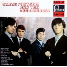 WAYNE FONTANA AND THE MINDBENDERS - WAYNE FONTANA AND THE MINDBENDERS - EXCELLENT+