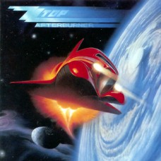 ZZ TOP - AFTERBURNER - LP 1985 - NEAR MINT