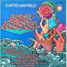CURTIS MAYFIELD - SWEET EXORCIST - LP USA 1974 - EXCELLENT+