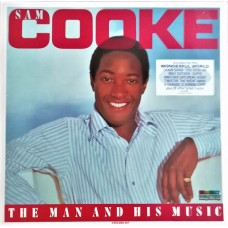 SAM COOKE - THE MAN AND HIS MUSIC - LP 1986 - EXCELLENT
