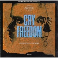 CRY FREEDOM - SOUNDTRACK - LP USA 1987 - EXCELLENT+