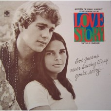 LOVE STORY - SOUNDTRACK - LP UK 1971 - EXCELLENT