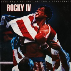 ROCKY IV - SOUNDTRACK - LP 1985 - EXCELLENT++