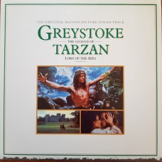 GREYSTOKE THE LEGEND OF TARZAN LORD OF THE APES - SOUNDTRACK - LP 1984 - NEAR MINT