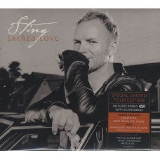 STING - SACRED LOVE - CD/DVD 2004 - SPECIAL LIMITED TOUR EDITION - NEAR MINT