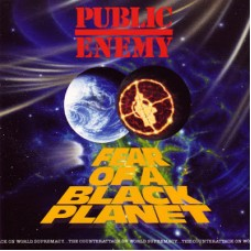 PUBLIC ENEMY - FEAR OF A BLACK PLANET - LP 1990 - ORIGINAL - EXCELLENT++