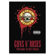 GUNS N' ROSES - WELCOME TO THE VIDEOS - DVD