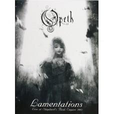OPETH - LAMENTATIONS - LIVE AT SHEPHERD'S BUSH EMPIRE 2003 - DVD