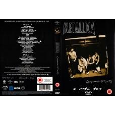 METALLICA - CUNNING STUNTS - 2 x DVD BOX SET - EXCELLENT+
